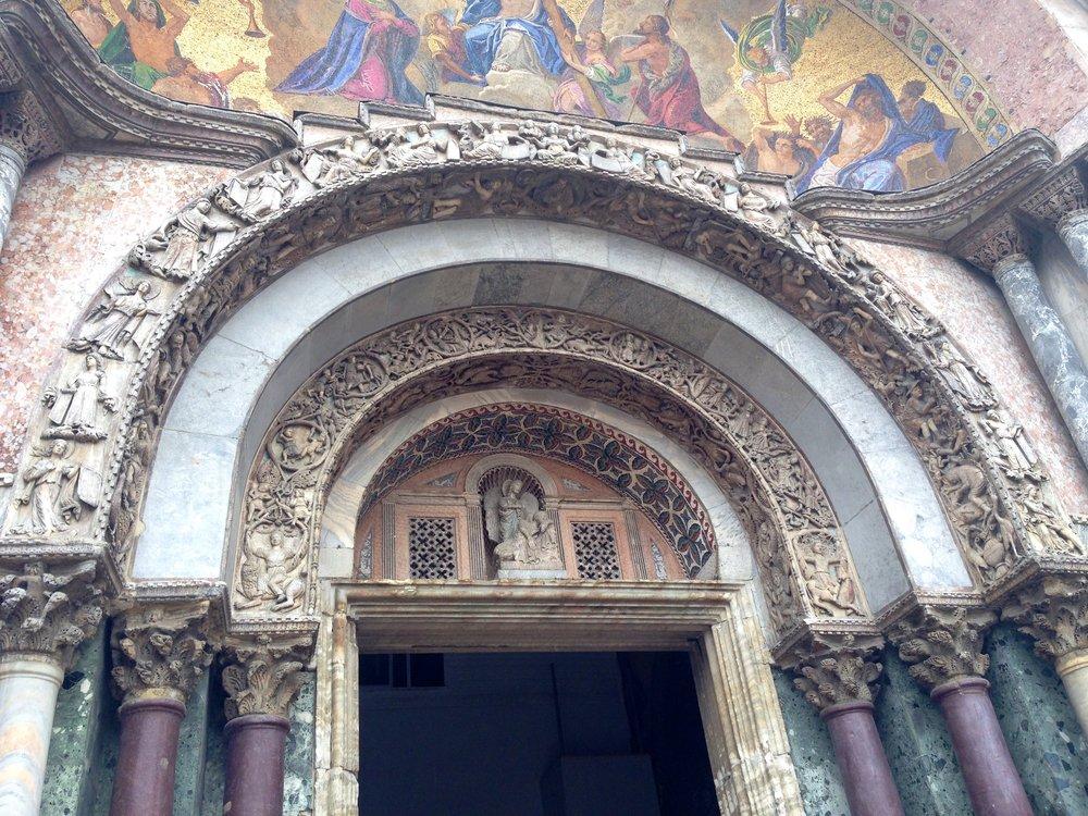 San Marco Venezia Portale Maggiore