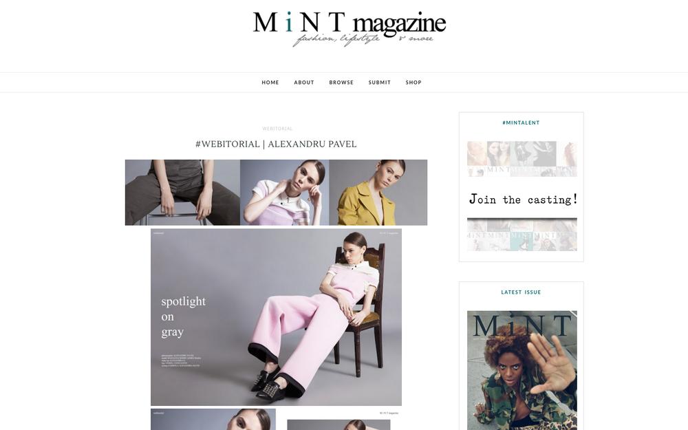 "Spoff in ""Mint Magazine"""