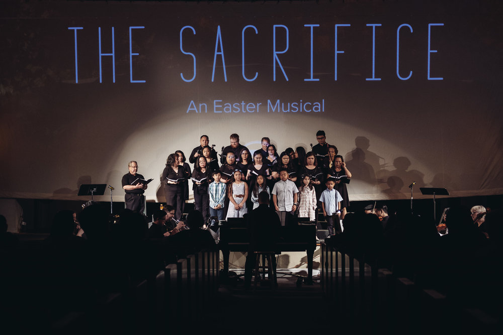 The Sacrifice  , Easter Musical 2018