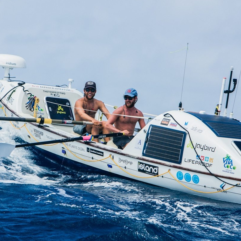 "The Tempest Two   - In 2015, Tom and James rowed the Atlantic Ocean together - a challenge that less than 300 people have accomplished. In 2017, the pair plan to break a world record by completing a 1,000 mile bike ride, 120km trail run and a 5 day stand up paddle board race, which they have dubbed an ""ultra-triathlon"".    Facebook   