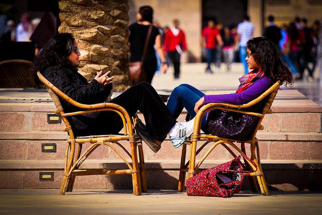 Med litt personlig innsats kan vi bli gode til å kommunisere.Foto:Asim Bharwani, Flickr