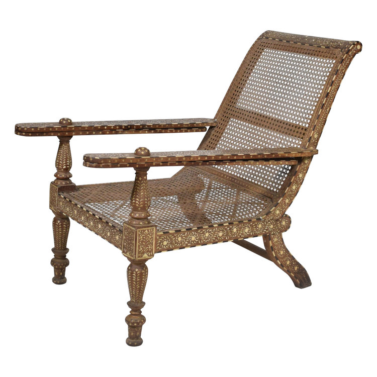 chair 3.jpg ... - Antique Anglo Indian Plantation Chair — The Vault Sydney