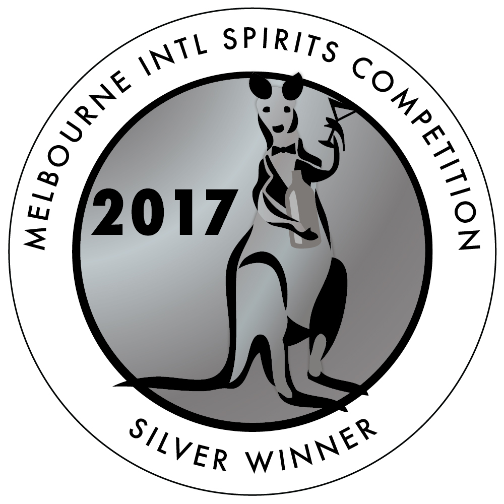 Silver Medal -  Melbourne International Spirits Competition 2017