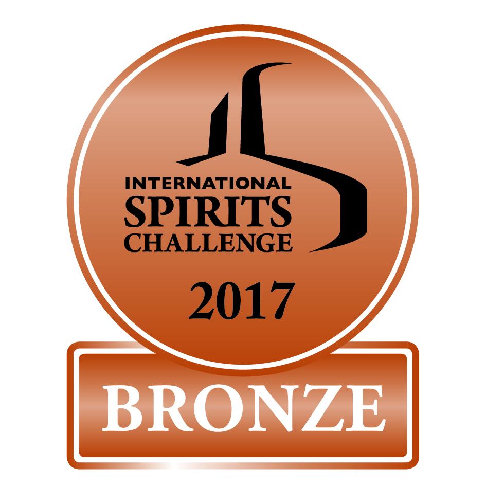 Bronze Medal -  International Spirits Challenge, London 2017