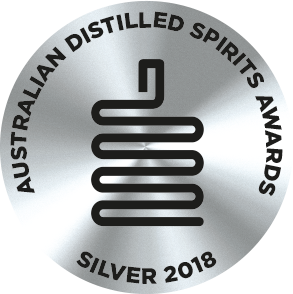 Silver Medal -  Australian Distilled Spirit Awards 2018