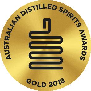 Gold Medal -  Australian Distilled Spirit Awards 2018