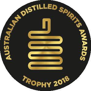 Champion Small Batch Spirit -  Australian Distilled Spirit Awards 2018