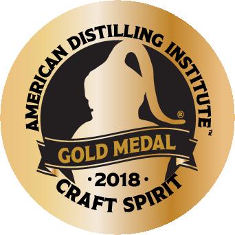 Gold Medal -  American Distilling Institute Awards 2018