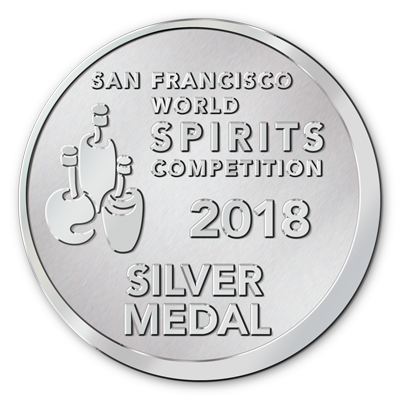 Silver Medal -  San Francisco World Spirits Competition