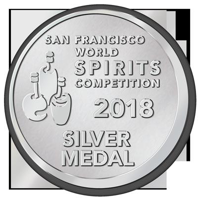 Silver Medal -  San Francisco World Spirit Awards 2018