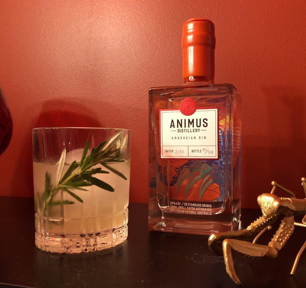 Recipe created by Eva Thieu of Animus Distillery