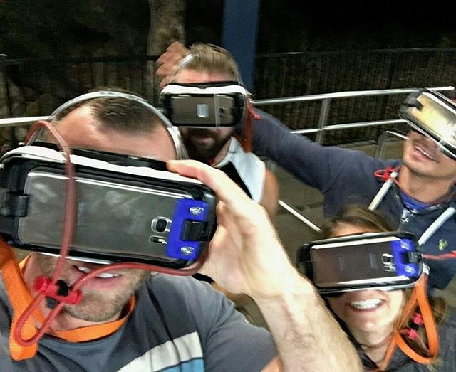 Out of 6 Flags VR rollercoaster