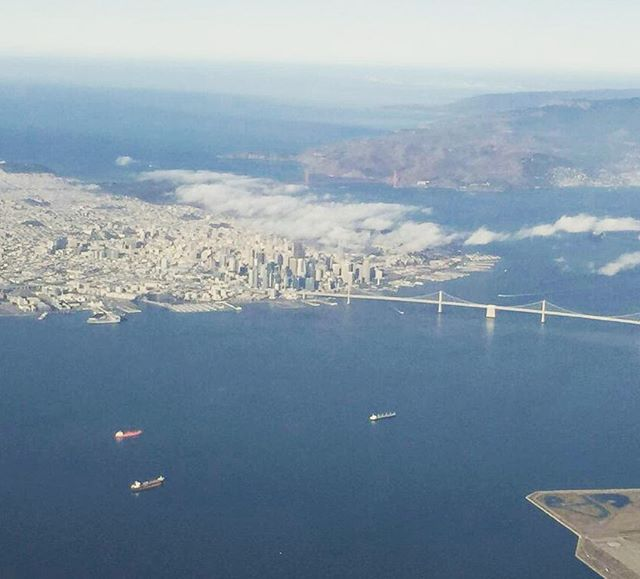 SF looking like a toy city from the Sky