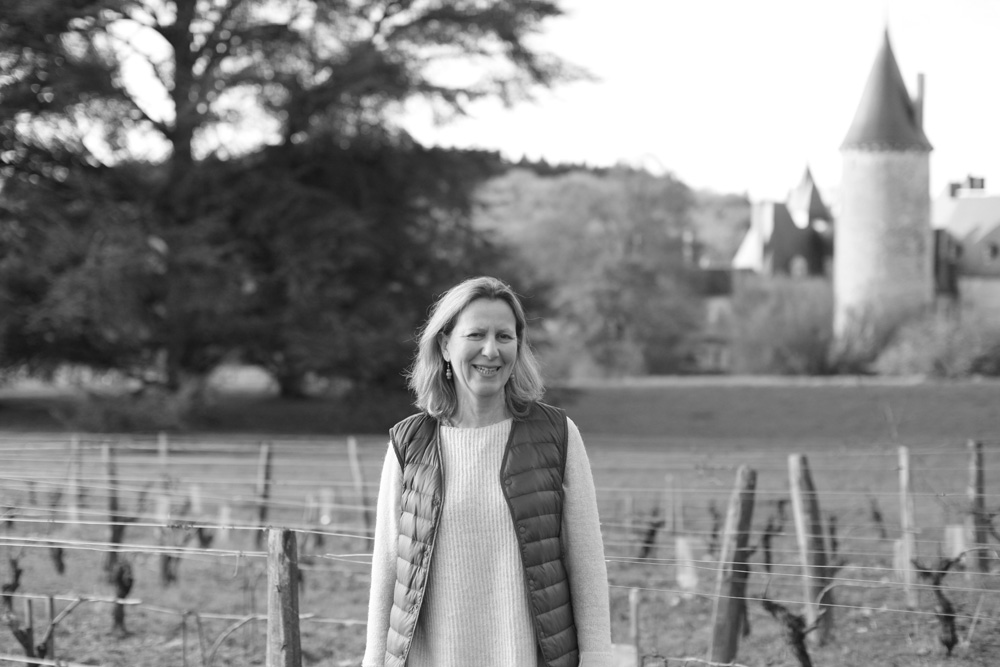 Vers le site du Château de Tracy