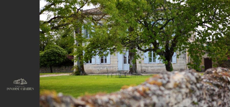 Vers le site du Château Pontoise Cabarrus