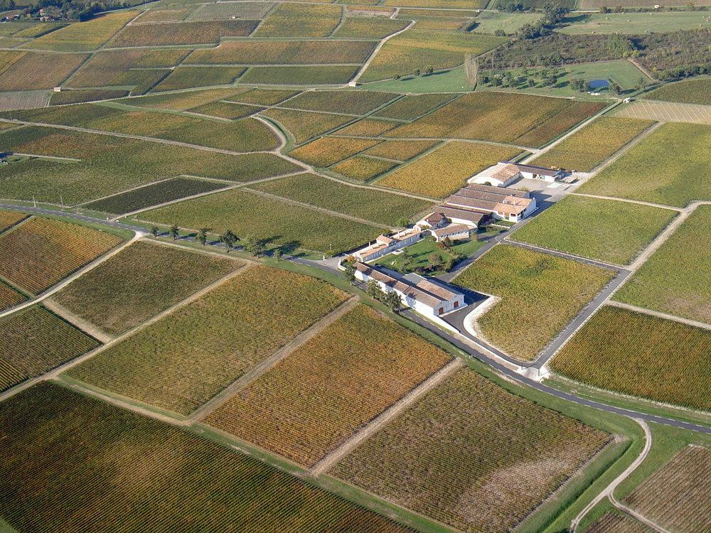 Vers le site du Château Sociando-Mallet
