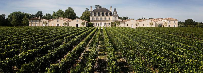 Vers le site du Château Grand-Puy-Lacoste