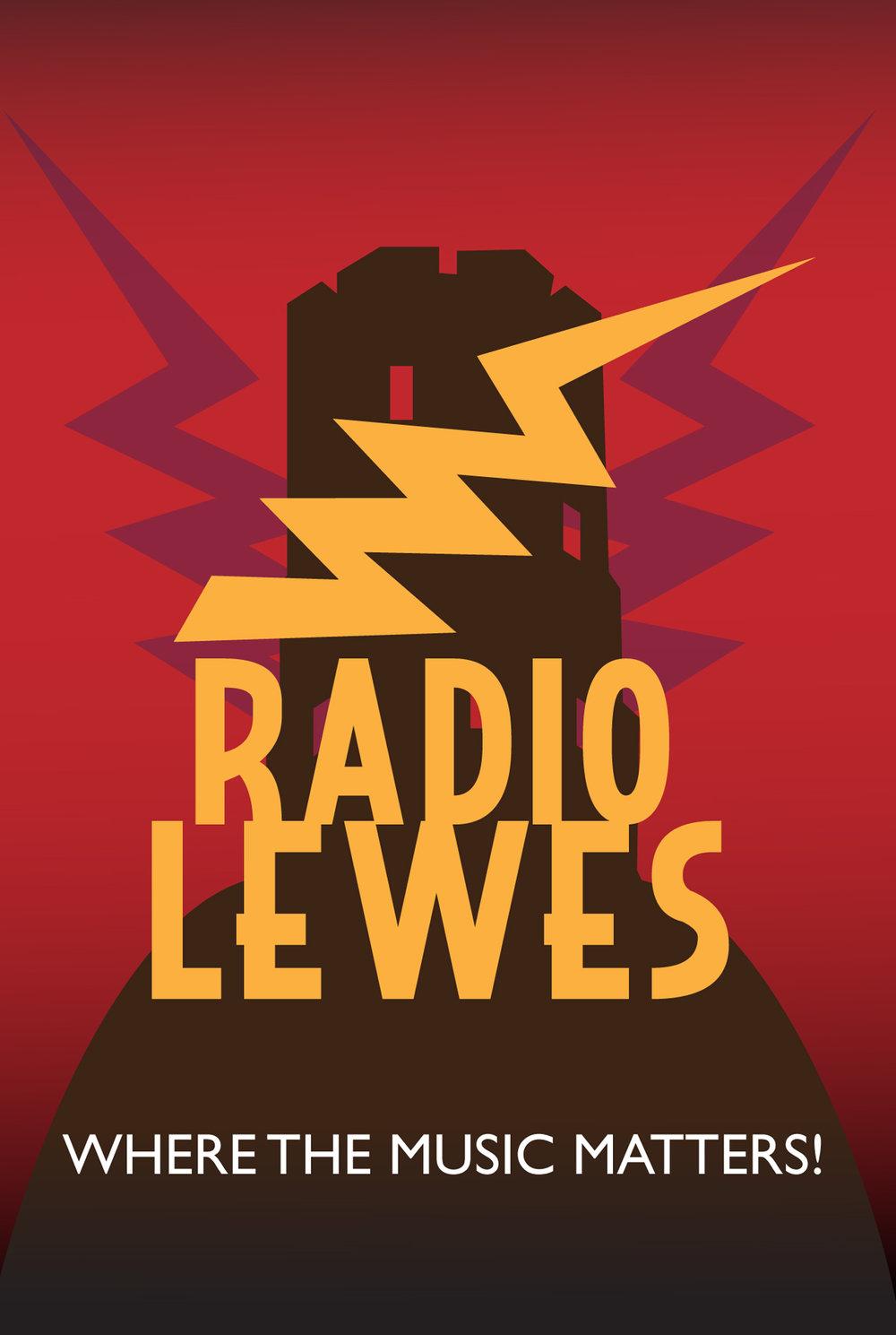 Radio Lewes Mobile App. Graphics & Logo
