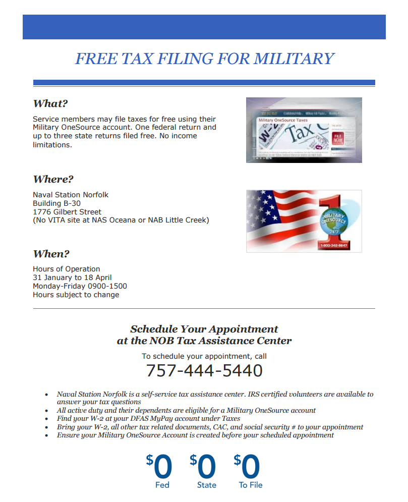 Tax Assistance Available!