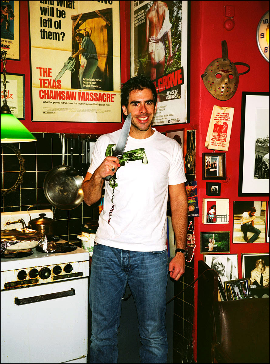 Director/actor Eli Roth