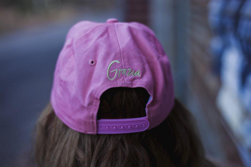 Das ist die Grazia-Cap aus der Goodie Bag