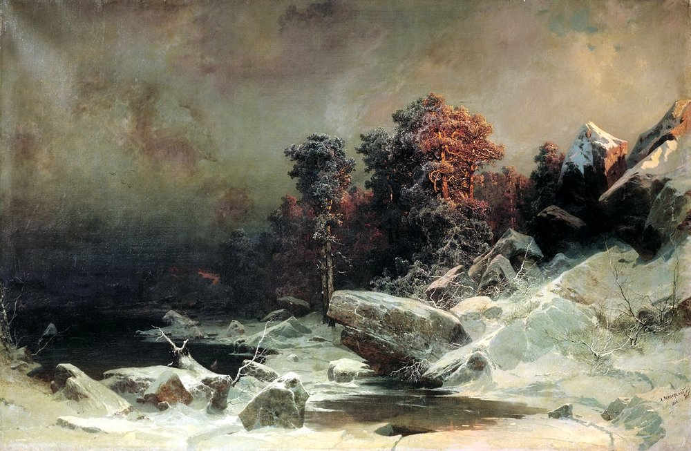 Arseny Meshchersky - Winter Evening 1866.jpg