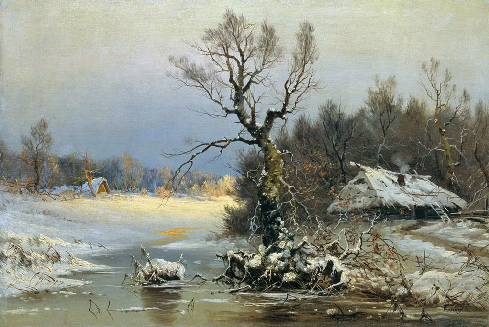 Nikolai Nikolayevich Karazin - Winter Day.jpg