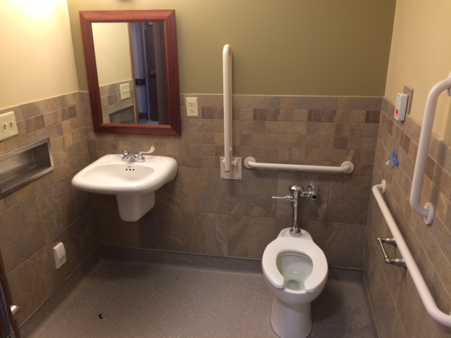 Resident Room Bathroom - Single Room.JPG