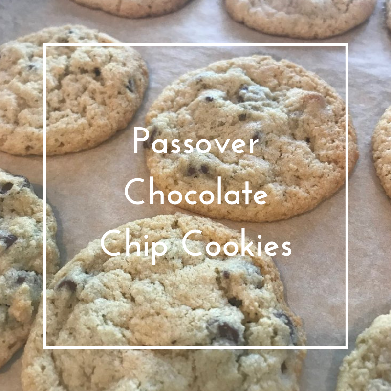 Almond Chocolate Chip Cookies for Passover and Beyond