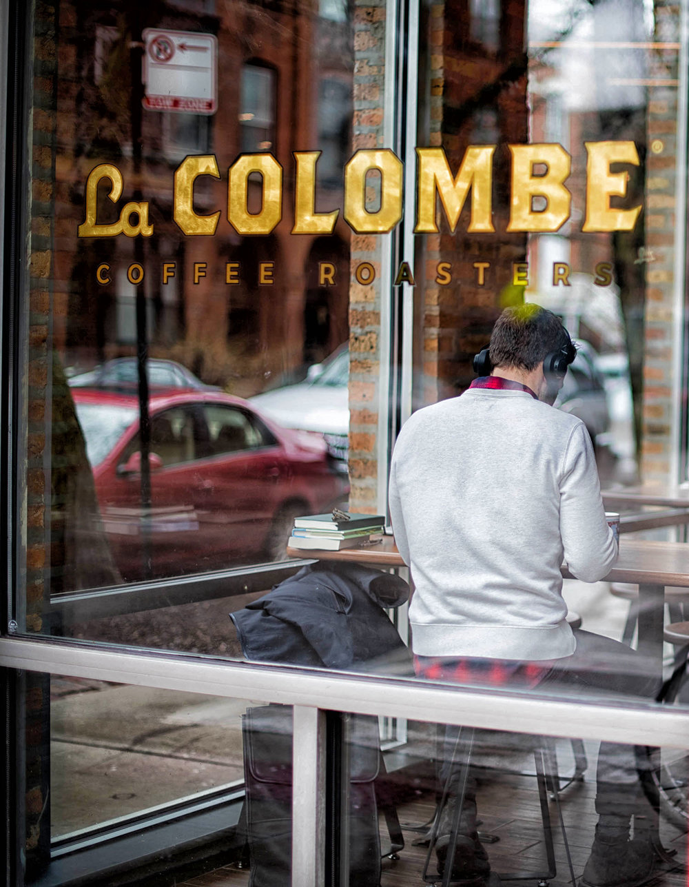 I posted this photo earlier this month. La Colombe liked it so much that they reposted it on their own Instagram page - 60K followers! Yay!
