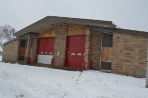 Closed Fire Station, Flint MI. Photo by Black/Land Project