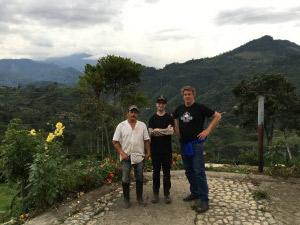 David, Eric and Hector, Finca La Meseta