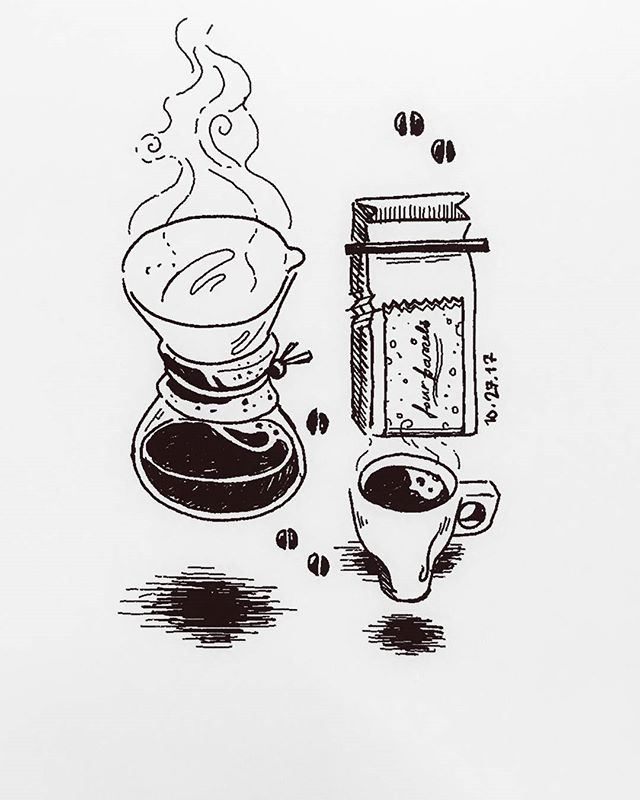 Final #inktober2017 post from @lindhorstj. A necessity of being productive is having a bit of caffeine in your system. @hennepin_co is providing some awesome coffee from @fourbarrelcoffee for all the coworkers, soon to be roasted fresh at the in-house Parallel Cafe, opening at the beginning of the year. Man, this just keeps on getting better! . . . . #inktober #hennepin&co #coworking #industrial #northmpls #glenwood #northloop #northloopmpls #mpls #mplsentrepreneurs #mplscoworking #minneapolis #creativecommunity #remarkabletablet #sketch #doodle #eink #friendandfort #givemecoffee #parallelcafe #caffeine #deathbeforedecaf