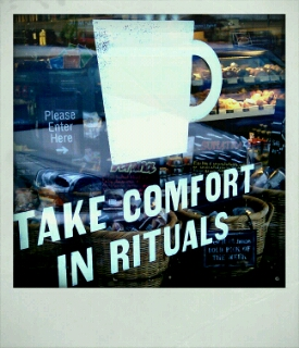 Do you take comfort in rituals?