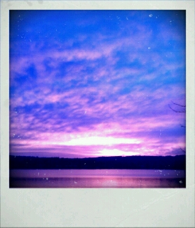 Amazing Puget Sound Sunset