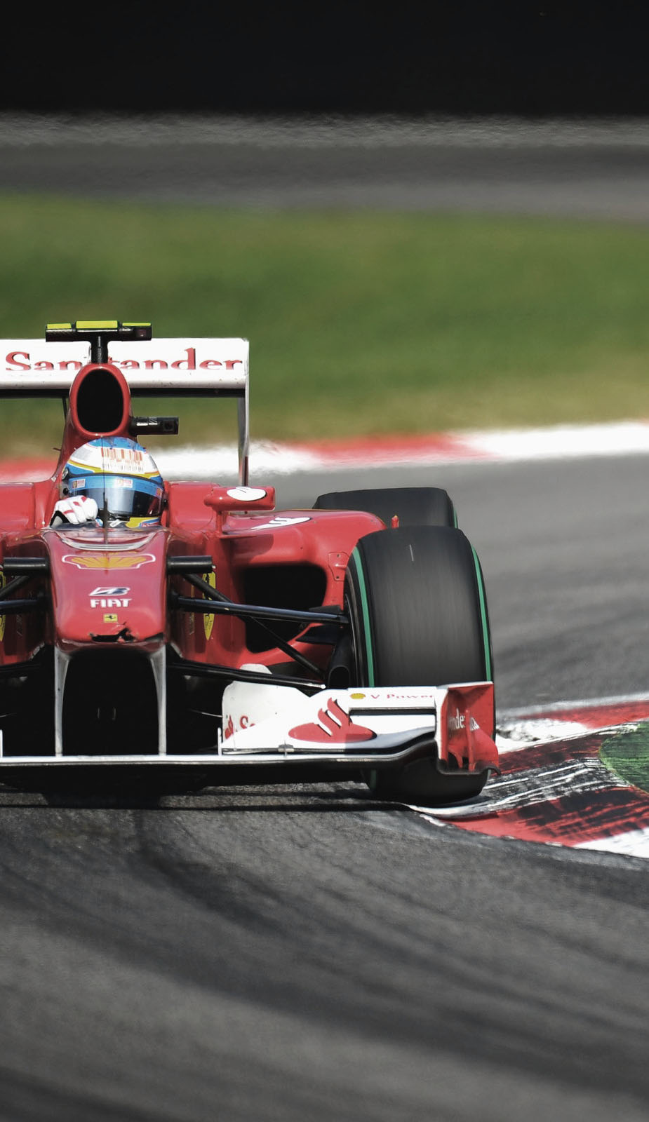 Formula 1 corner