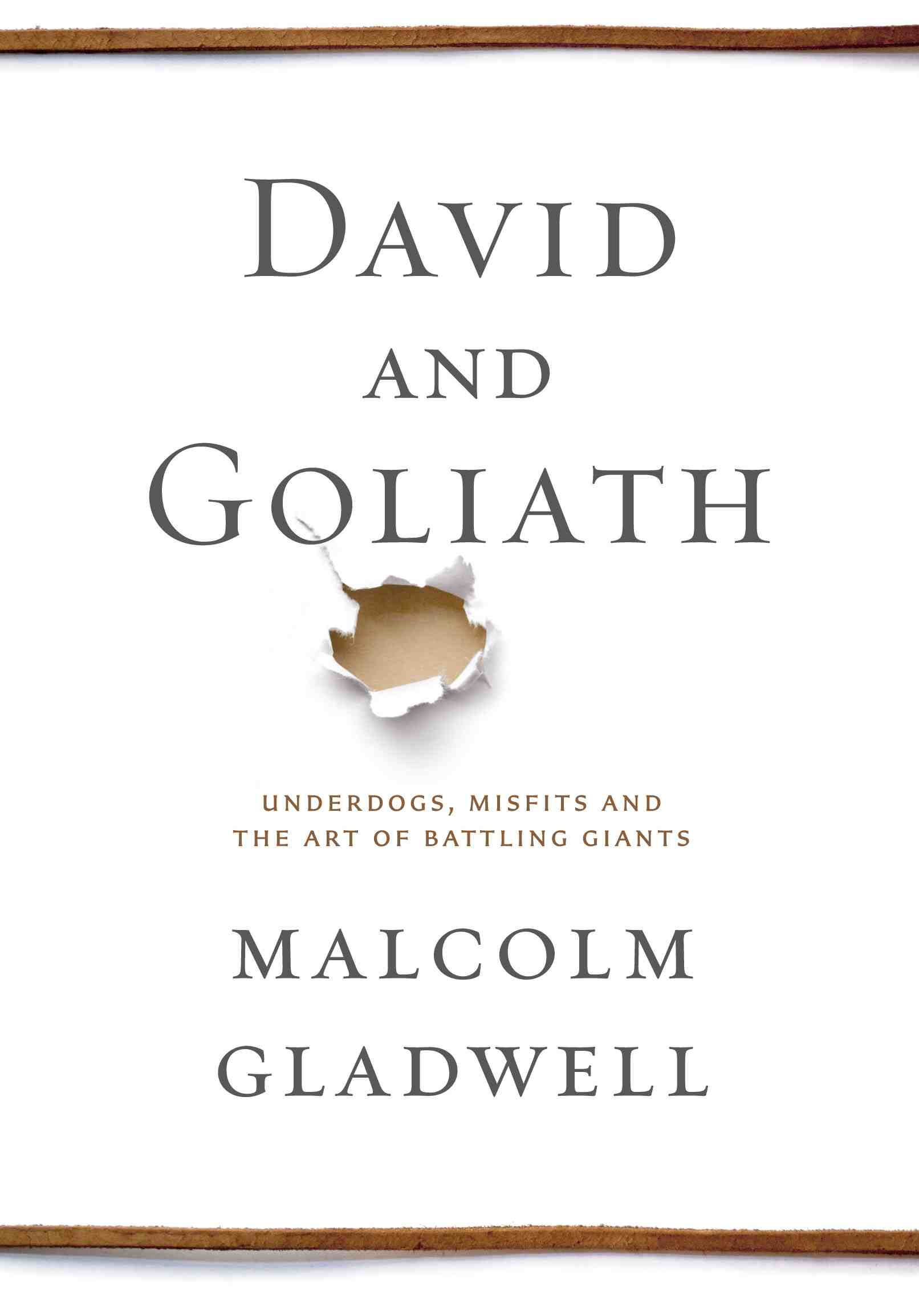 David and Goliath Gladwell