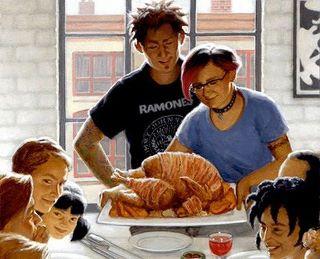 punk rock thanksgiving