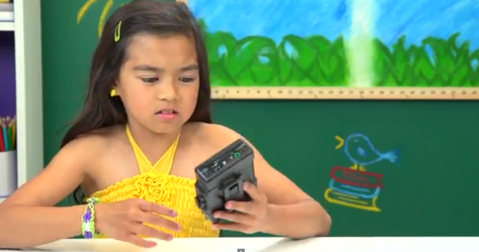 Kids React Walkman
