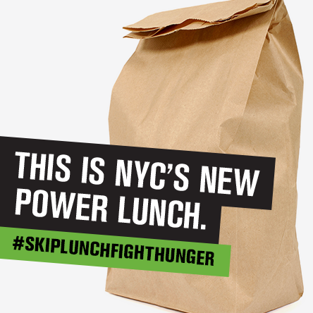 CITY HARVEST 2015 Skip Lunch Fight Hunger Campaign