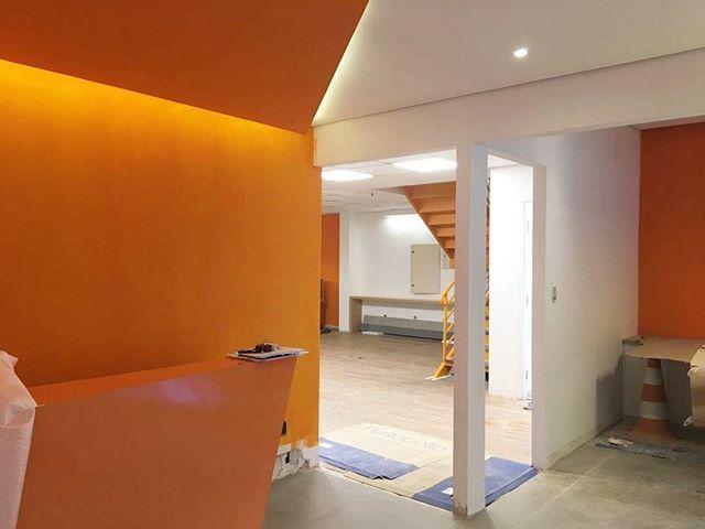 Sneak peek do nosso projeto em Santos.