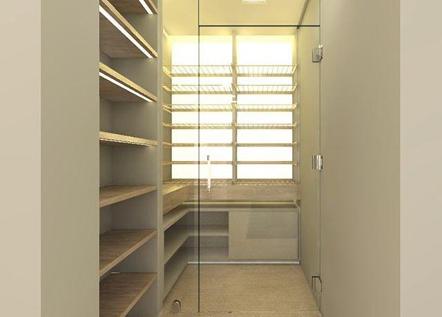 Adega climatizada do apartamento no Jardim das Perdizes. Mais de 100 rótulos expostos e iluminação difusa.