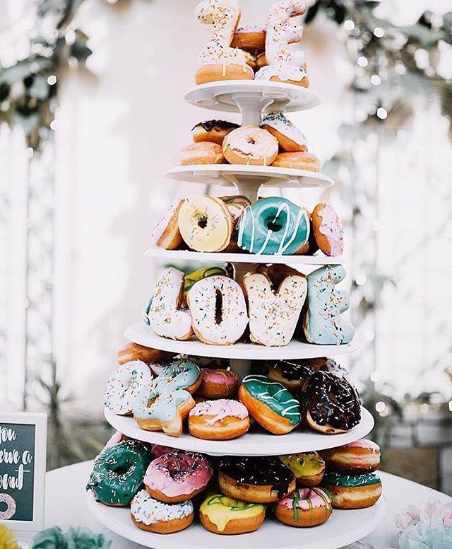 Team doughnut tower over cake tiers... all day, everyday 🙌🏻 // photo by @cassandrafarleyphoto, seen on @theknot #rp • • • #theknot #weddingideas #weddinginspo #weddingcake #uniquewedding #decoridea #weddingplanner #weddingconsultant #orangecounty #oc #socal #weddingstyle #celebratelove #partytime #abmlifeissweet #weddingvibes #decorinspo #dessertlove #sweettooth #doughnuttime