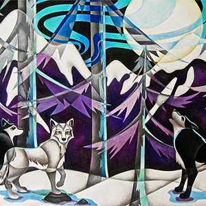 Moonlight-Howl-Wolves-Colored-Pencil-Thumbnail.png