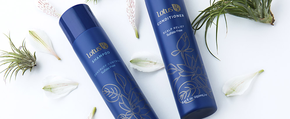 LotusRX Shampoo & Conditioner Set