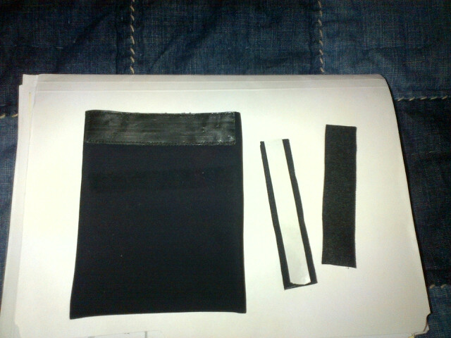 Extra Self-Adhesive Strip of Velcro comes w each Pouch!