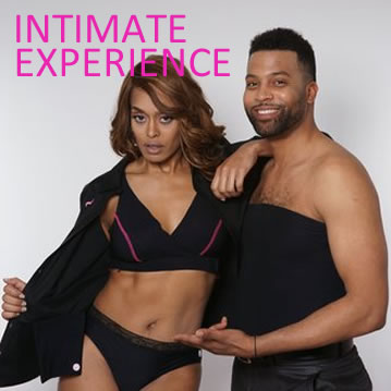 CRISSCROSS - discrete Intimate Apparel for Men &Women Survivors of all stages and phases experiencing Breast Cancer