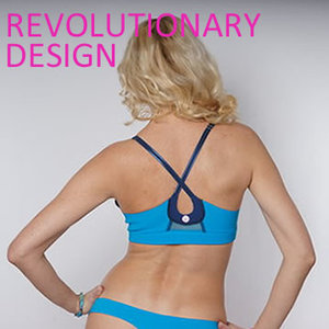 Simply Revolutionary!   State-of-the-art one-piece revolutionary designs marry function and form.  Easy one-piece slip on, h ighly functional post-op construction bra also holds drainage tubes conveniently and discretely .   CRISSCROSS granted USPTO utility patented designs, so we've got you covered for all stages during recovery and healing, leaving the OR room Day 1 to Day 180+ and beyond; also achieving  ISO 9001:2015  (women-owned business) &  ISO 13485  (medical devices) international quality board accredited certification.