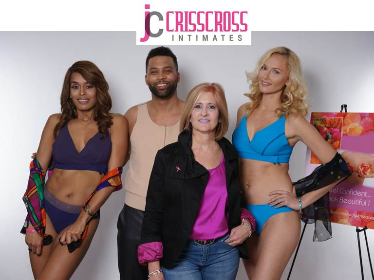 SHOP CRISSCROSS Intimates today! A full luxury collection of post-surgical undergarments for any stage or phase or breast recovery by Jean Criss, Designer, Founder and 10-year Survivor.