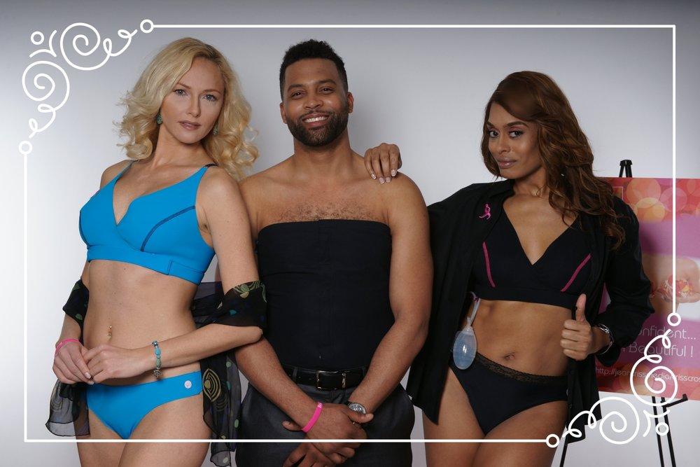 Fashion Week Models: Angelina, Jonathon, Josie!
